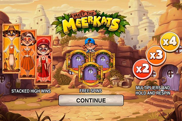 игровой слот онлайн Meet the Meerkats
